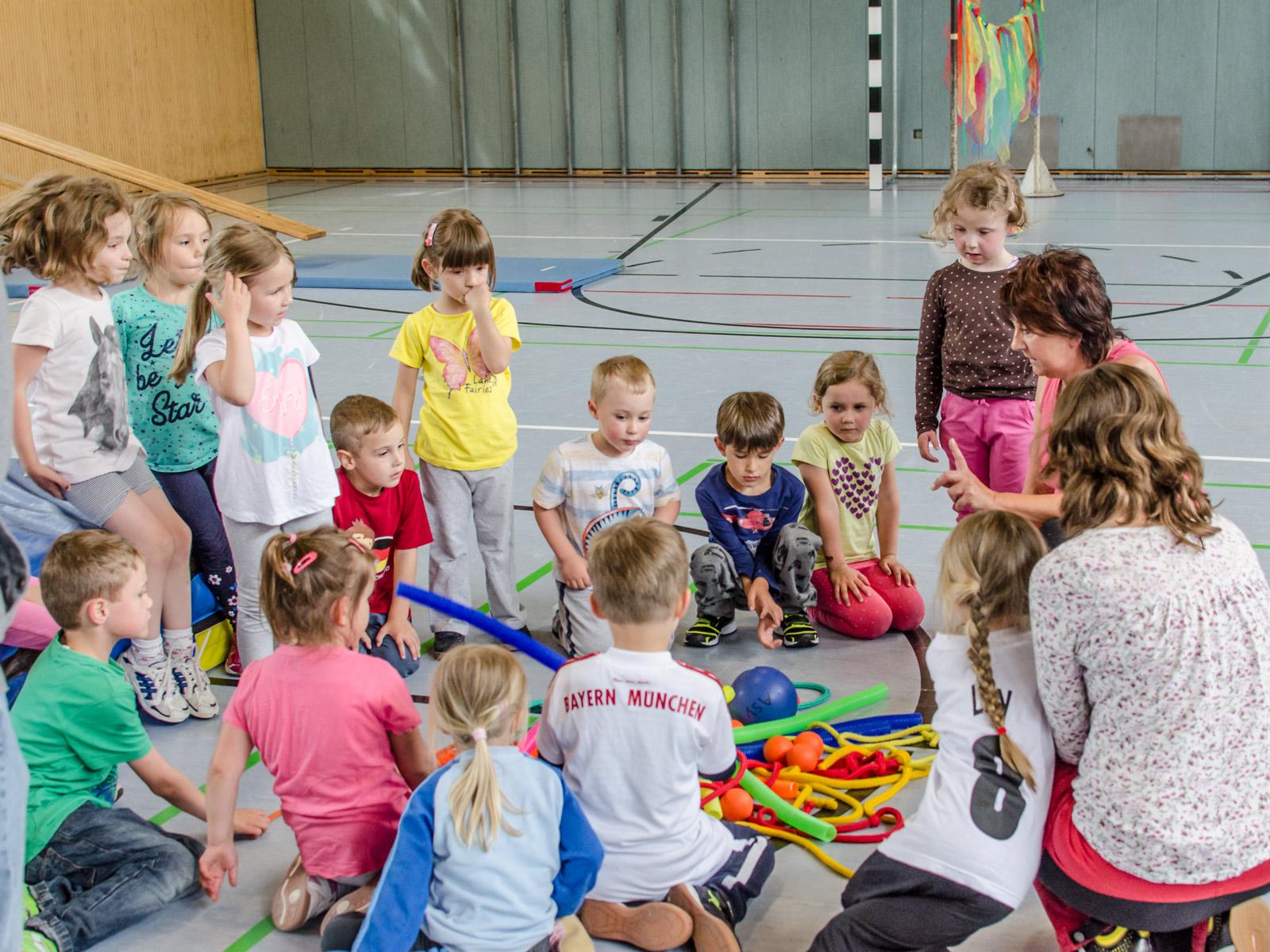 Kinderturnen in Bayreuth - ASV Laineck